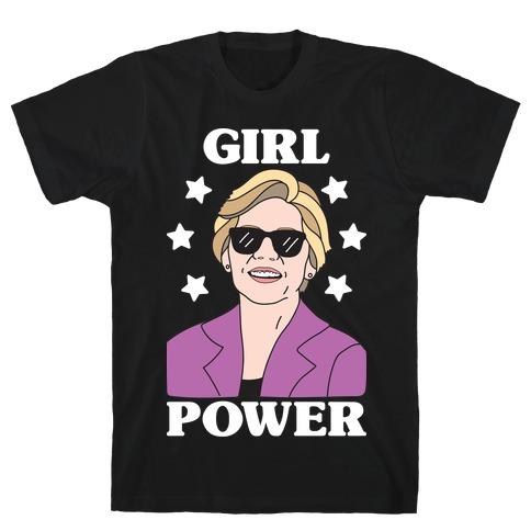 Girl Power Elizabeth Warren T-Shirt