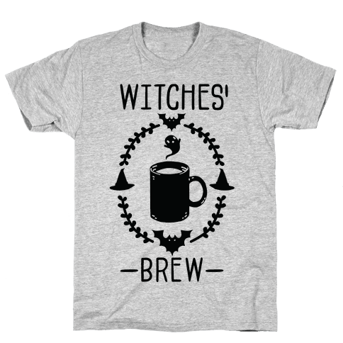Witches' Brew Coffee Mens T-Shirt