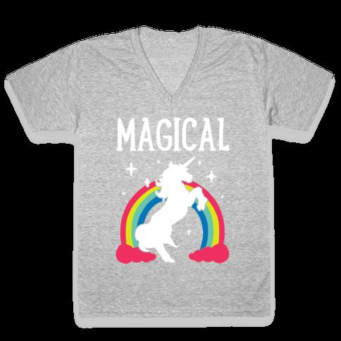Magical Besties 1 V-Neck Tee Shirt