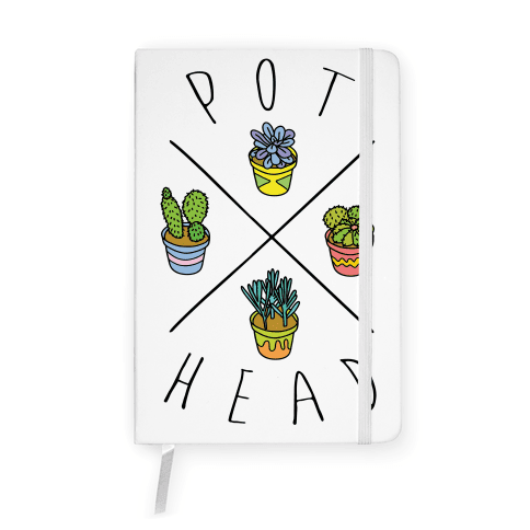 Pot Head Succulents Notebook