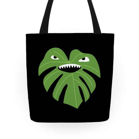 Monstera Leaf Monster Tote