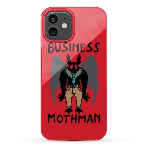 Business Mothman Parody Phone Case