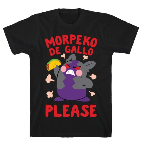 Morpeko De Gallo Please T-Shirt