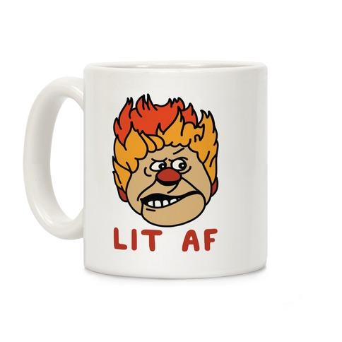 Lit AF Heat Miser Coffee Mug