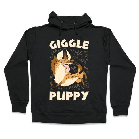 Giggle Puppy Hooded Sweatshirt