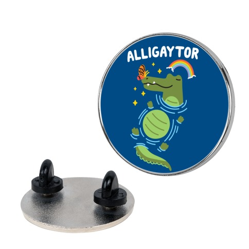 Alligaytor (Gay Alligator) Pin