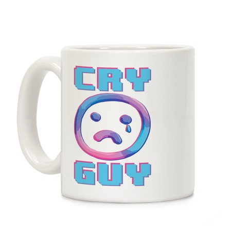 Cry Guy Sadboi Coffee Mug
