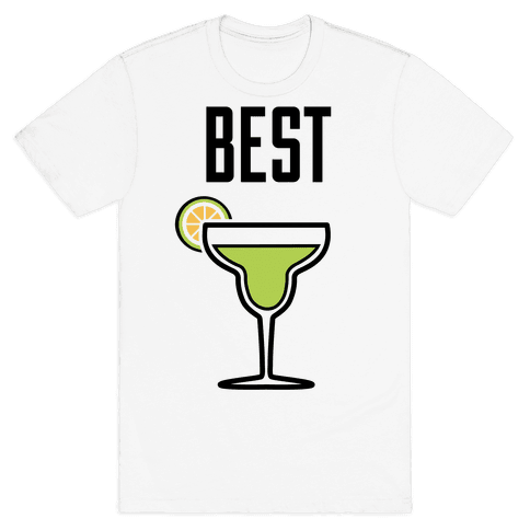 Best Amigas (Margarita) Mens T-Shirt