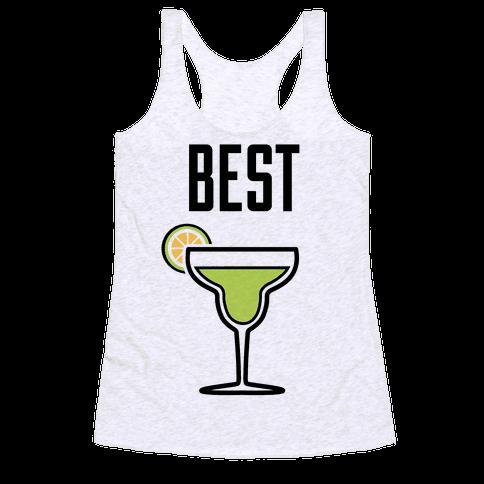 Best Amigas (Margarita) Racerback Tank Top