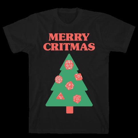 Merry Critmas Mens T-Shirt