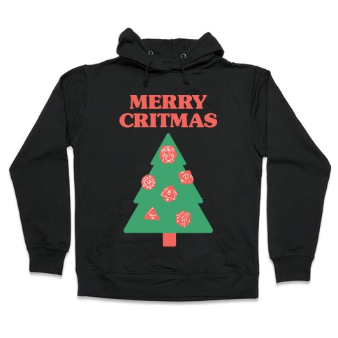 Merry Critmas Hooded Sweatshirt