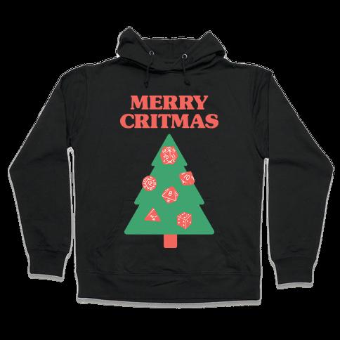 Merry Critmas Hooded Sweatshirt