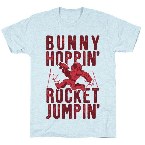 Bunny Hoppin' & Rocket Jumpin' T-Shirt