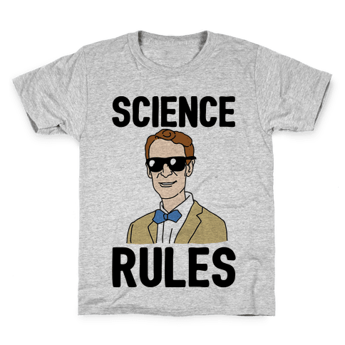 Science Rules  Kids T-Shirt