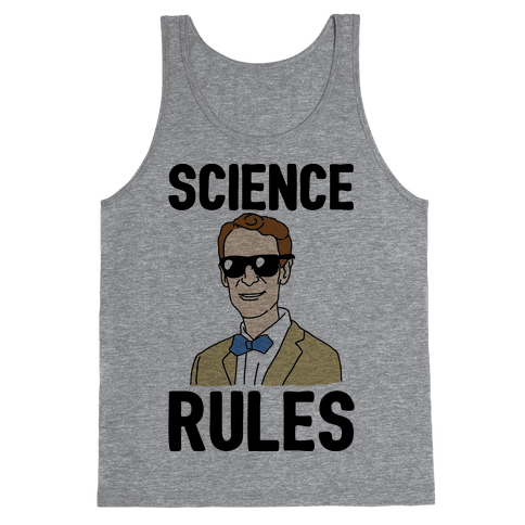 Science Rules  Tank Top