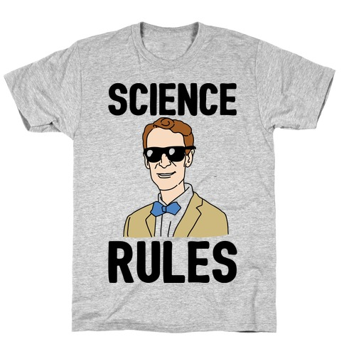 Science Rules  Mens T-Shirt
