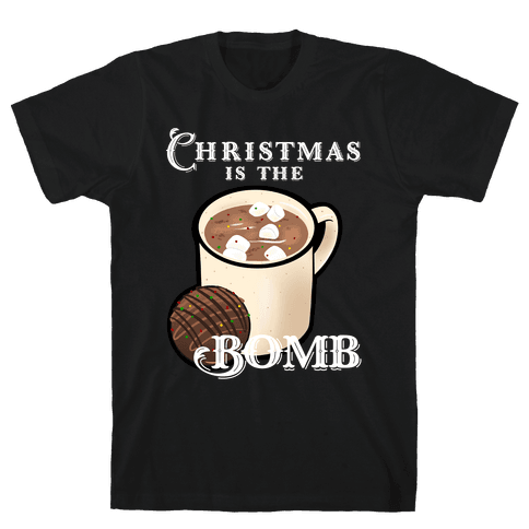 Christmas Is The Bomb Mens/Unisex T-Shirt
