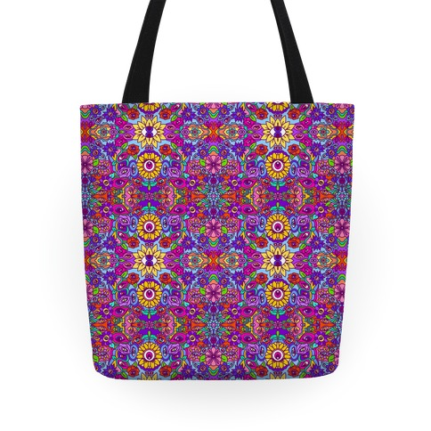 The Flowers Have Eyes Tote
