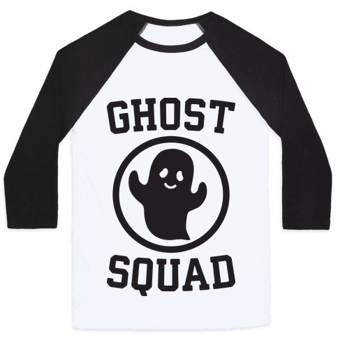 Ghost Squad Baseball Tee