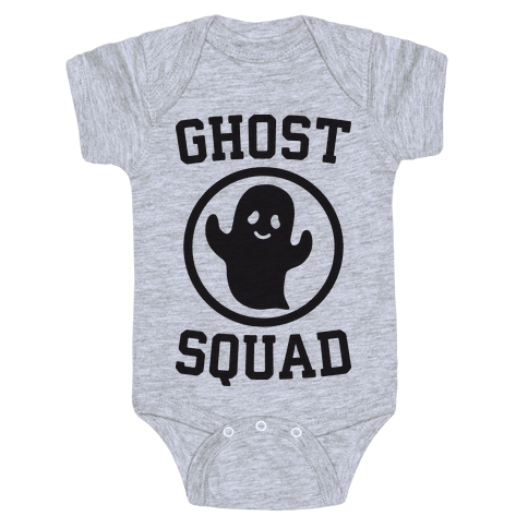 Ghost Squad Baby Onesy