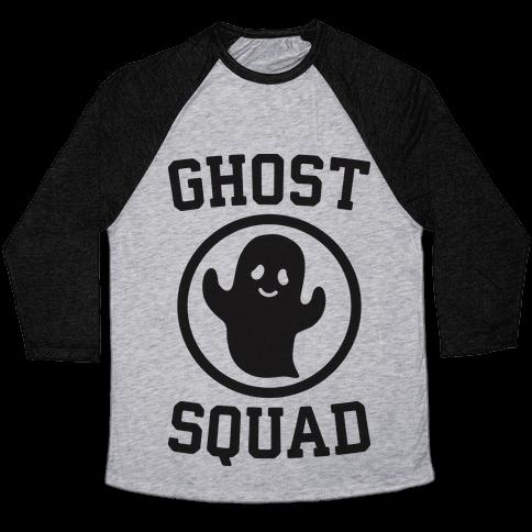 Ghost Squad Baseball Tee