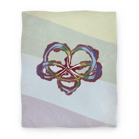 Polyamory Knot Blanket