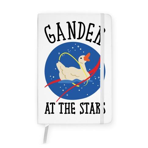 Gander At The Stars Notebook