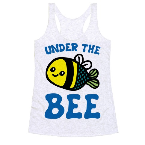 38a6bc92b Bumble Bee Racerback Tank Tops   LookHUMAN