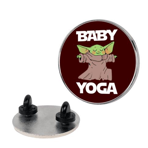 Baby Yoga Pin