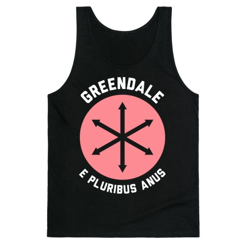 Greendale E Pluribus Anus Tank Top