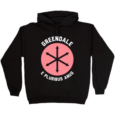 Greendale E Pluribus Anus Hooded Sweatshirt
