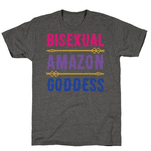 Bisexual Amazon Goddess Parody T-Shirt