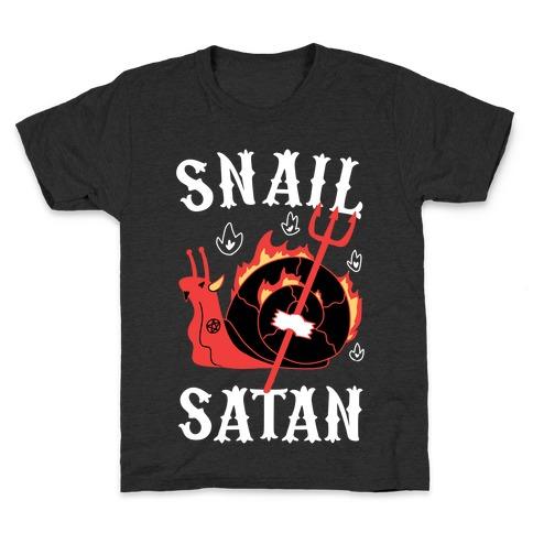 Snail Satan Kids T-Shirt