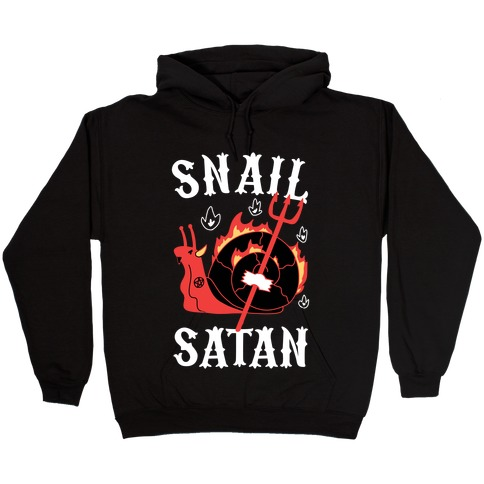 Snail Satan Hooded Sweatshirt