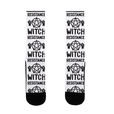 Resistance Witch Sock