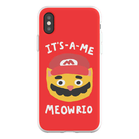 It's A Me Meowrio Phone Flexi-Case