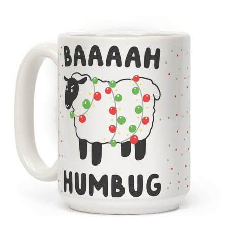 Baaaaah Humbug Coffee Mug