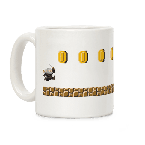 Super Geralt (Witcher) Coffee Mug