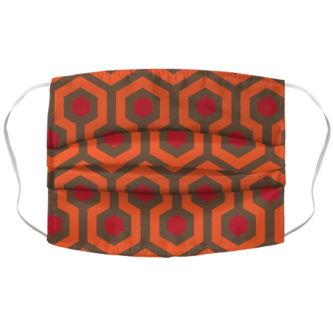 The Shining Pattern Accordion Face Mask