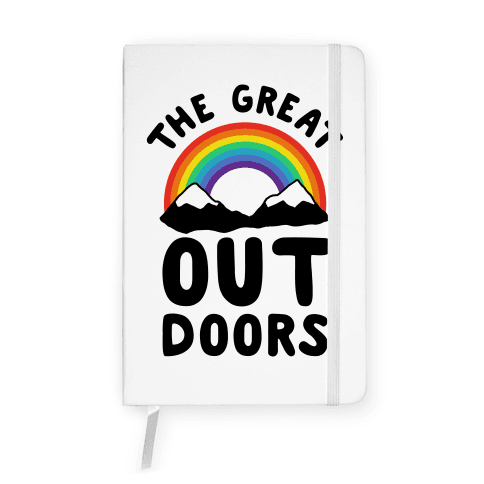 The Great OUT Doors Notebook