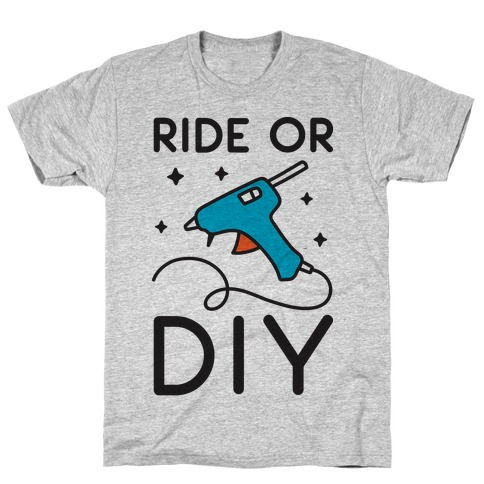 Ride Or DIY Pair 2/2 T-Shirt