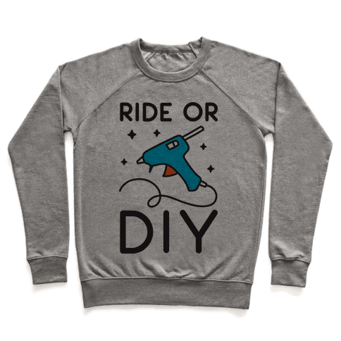 Ride Or DIY Pair 2/2 Pullover