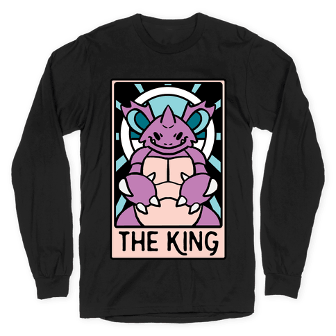 The King - Nidoking Long Sleeve T-Shirt