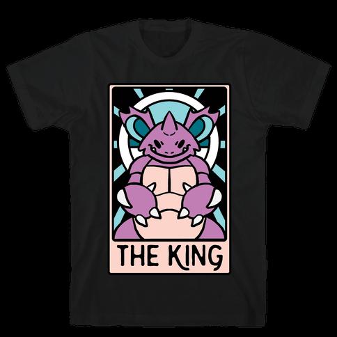 The King - Nidoking Mens/Unisex T-Shirt