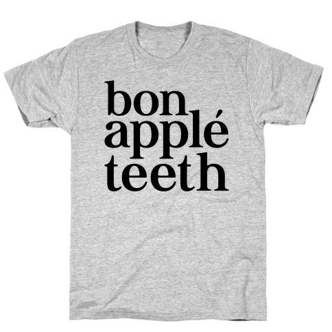 Bone Apple Teeth Parody T-Shirt