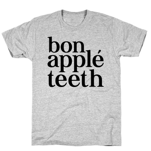 Bone Apple Teeth Parody T-Shirt