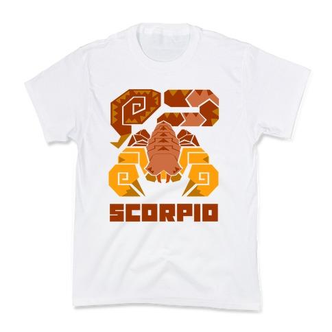 Monster Hunter Astrology Sign: Scorpio Kids T-Shirt