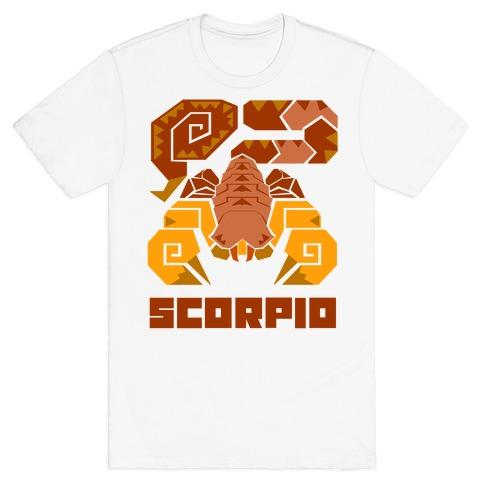 Monster Hunter Astrology Sign: Scorpio T-Shirt
