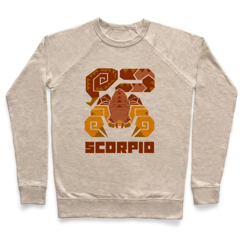 Monster Hunter Astrology Sign: Scorpio Pullover