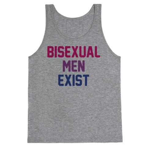 Bisexual Men Exist Tank Top